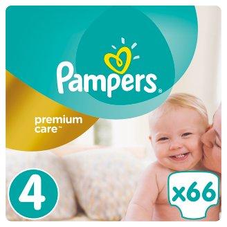 Pampers Premium Care Velikost 4 (Maxi) 8 – 14 kg, 66 Kusů