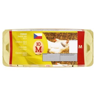 Tesco Fresh Eggs M 10 pcs