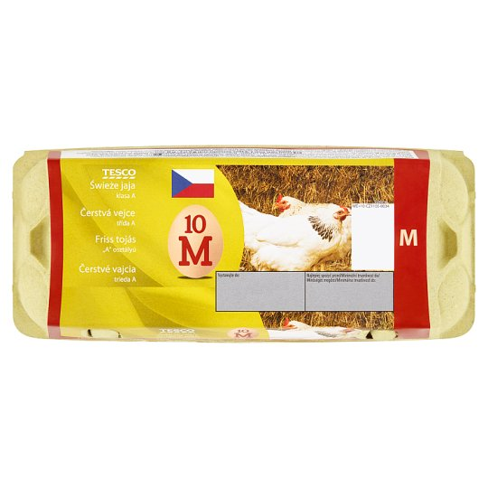 Tesco Fresh Eggs M 10 pcs