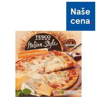 Tesco Italian Style Quattro Formaggi Pizza 320g