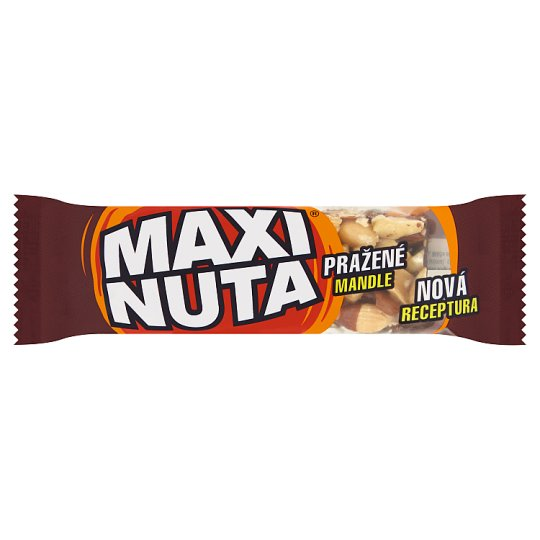 Maxi Nuta Roasted Almonds Bar 35g