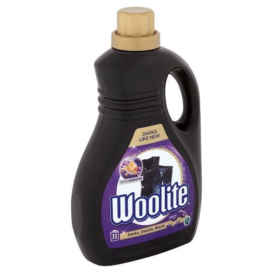 Woolite Darks, Black, Denim tekutý prací přípravek 33 praní 2l