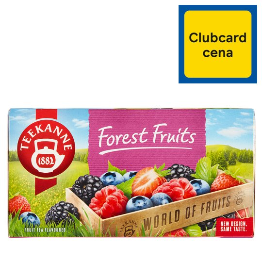 TEEKANNE Forest Fruits, World of Fruits, 20 Tea Bags, 50g