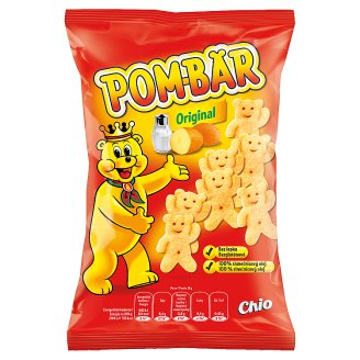 Pom-Bär Fried Potato Snack Salted 50g