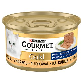GOURMET Gold paštika s krůtou 85g