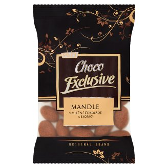 Poex Choco Exclusive Almond Almonds in Milk Chocolate and Cinnamon 150g