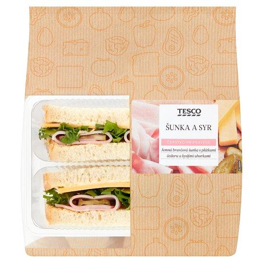 Tesco Šunka a sýr sendvič 165g