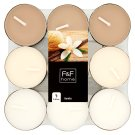 F&F Home Vanilla Mixed Fragrance Tealights 18 pcs