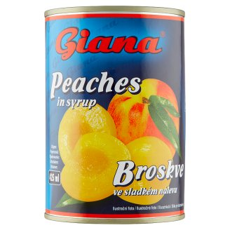 Giana Peaches in Syrup 410g