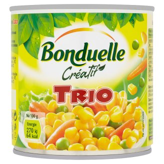 Bonduelle Créatif Trio Vegetable Mix in Salt Brine 400g