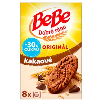 Opavia BeBe Good Morning Cocoa Cereal Biscuits 8 x 50g