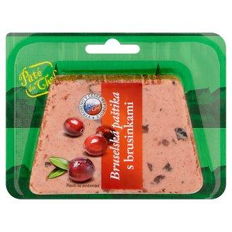 Paté Du Chef Bruselská paštika s brusinkami 125g