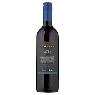 Viña Tarapacá Santa Cecilia Merlot červené víno 0,75l
