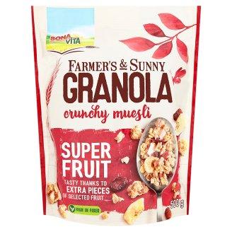 Bona Vita Farmer's & Sunny Granola müsli super fruit 500g