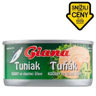 Giana Tuna Chunks in Brine 185g