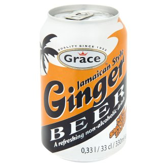 Grace Jamaican Style Ginger Non-Alcoholic Beer 330ml