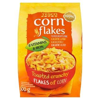 Tesco Corn flakes kukuřičné lupínky 500g