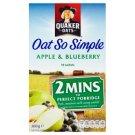 Quaker Oats Ovesné vločky jablko a borůvky 10 sáčků 360g