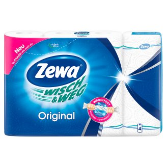 Zewa Wisch&Weg Klassik Kitchen Towels 4 Rolls