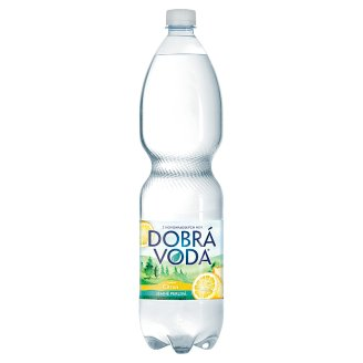 Dobrá voda Lightly Carbonated Flavored with Lemon 1.5L