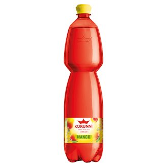 Korunní Jemně perlivá s příchutí mango 1,5l