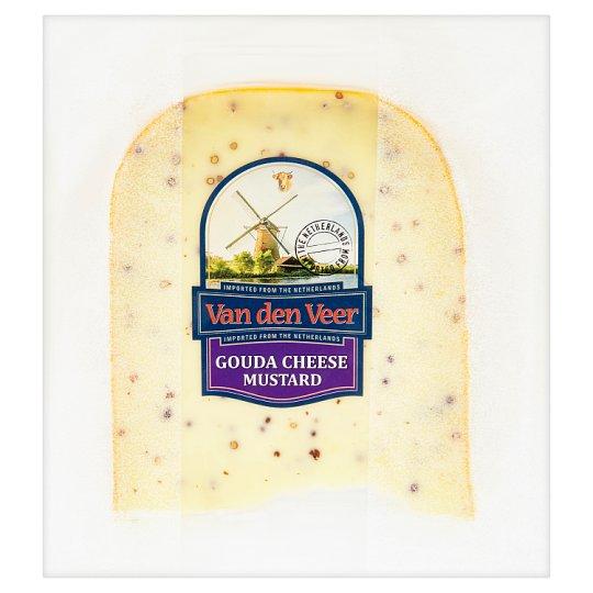 Van den Veer Gouda 50+ s hořčičným semínkem (krájená) 200g