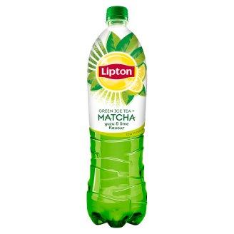 Lipton Ice Tea Matcha ledový čaj zelený s citrusovou příchutí 1,5l