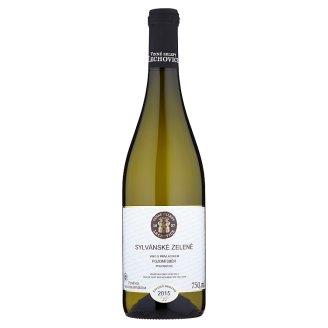 Vinné Sklepy Lechovice Sylvánské zelené víno s přívlastkem pozdní sběr polosuché bílé 750ml