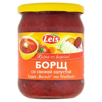 Leis Borsch with Fresh Cabbage 480g