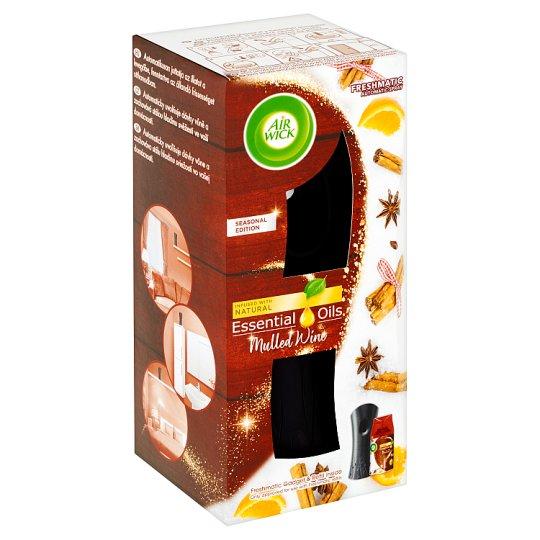 Air Wick Essential Oils Freshmatic difuzér a náplň do osvěžovače vzduchu svařené víno 250ml