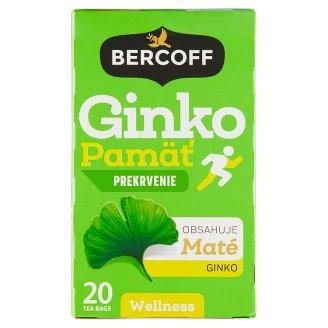 Bercoff Slim & Fit Ginko aromatizovaný bylinno - ovocný čaj 20 x 1,50g