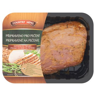 Country Menu Pork Ham in Rosemary Marinade with Added Water