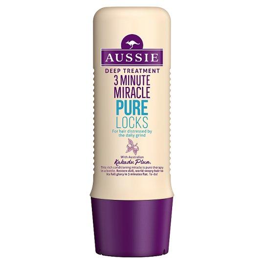 Aussie 3 Minute Miracle Pure Locks Intenzivní Péče 250ml