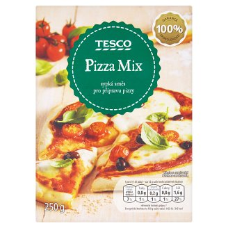Tesco Pizza Mix Loose Mixture to Prepare Pizza 250g