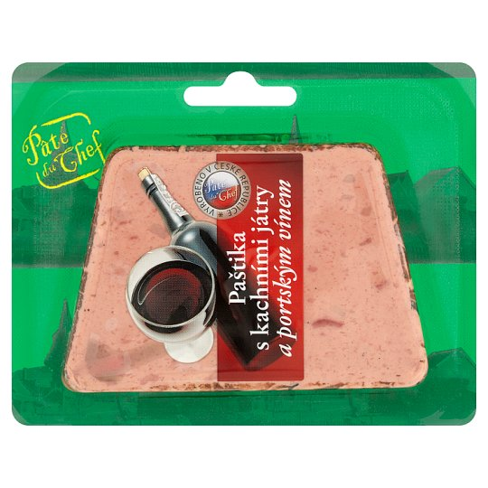 Paté Du Chef Pate Foie Gras and Port Wine 125g