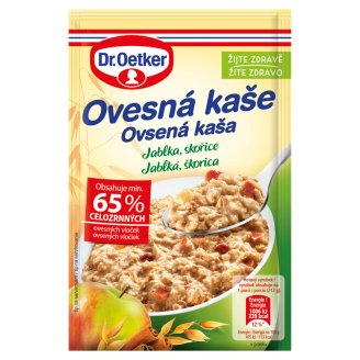Dr. Oetker Oatmeal with Apples, Raisins, Cinnamon 62g