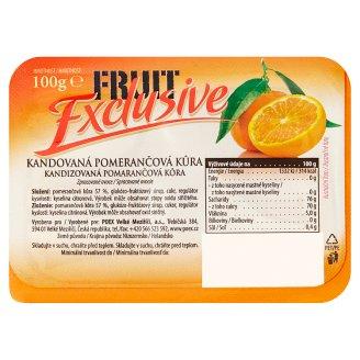 Poex Fruit Exclusive Kandovaná pomerančová kůra 100g