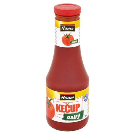Hamé Kečup ostrý 500g