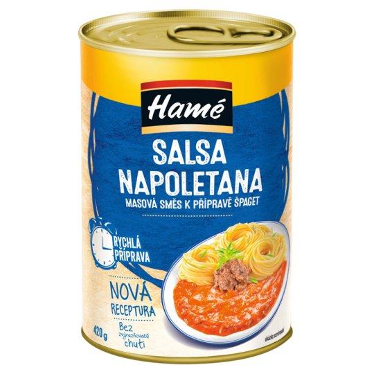 Hamé Salsa Napoletana Spaghetti Meat Sauce 420g