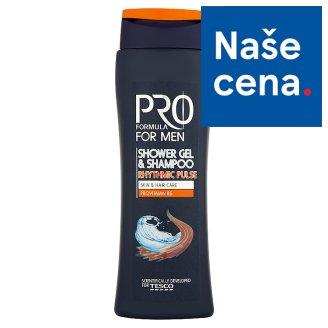 Tesco Pro Formula For Men Sprchový gel a šampón Rhytmic Pulse 400ml