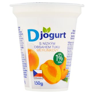 D Yogurt Apricot 150g