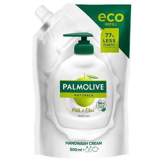 Palmolive Olive & Milk tekuté mýdlo náhradní náplň 500ml