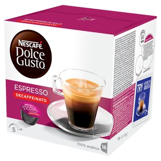 NESCAFÉ Dolce Gusto Espresso Bez kofeinu 112g