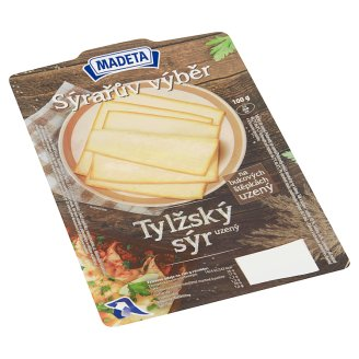 Madeta Tylžský Smoked Cheese Slices 100g