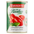 La Torrente Plum Peeled Tomatoes with Basil 400g