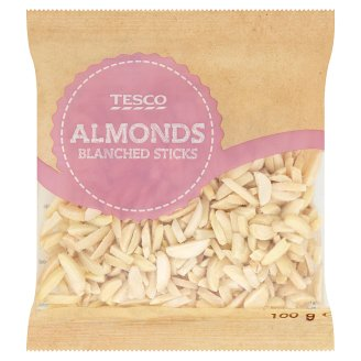 Tesco Almonds Blanched Sticks 100g
