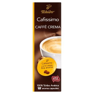 Tchibo Cafissimo Caffè Crema Fine Aroma Roasted Ground Coffee 10 x 7g