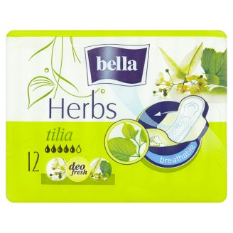 Bella Herbs Tilia Sanitary Pads 12 pcs