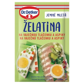 Dr. Oetker Gelatine to Aspic and Egg Brown 20g