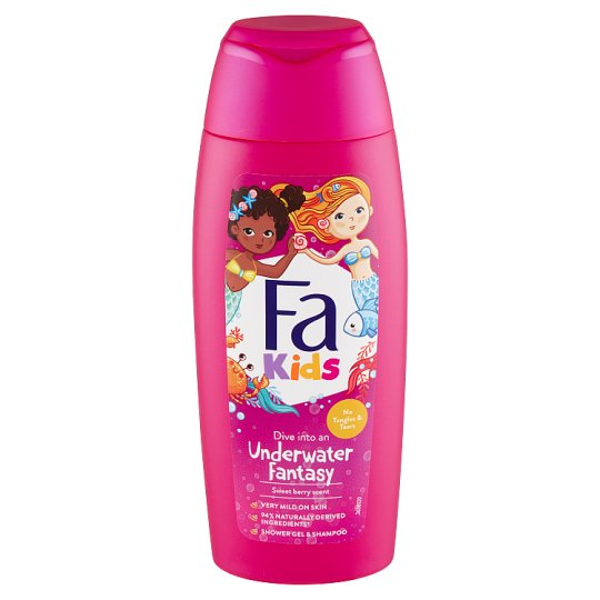 Fa Kids Shower Gel and Shampoo with Fruit Scent 250ml
